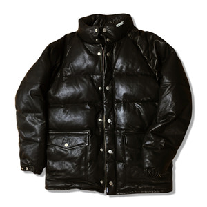 VAGETABLE LEATHER DUCK DOWN PARKA (LAMBSKIN) (베지터블 양가죽 덕 다운 파카)